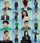 SIMS 4 CAS saints row! by petplayer976