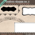 Custom Shapes Tags 3 by starsunflowerstudio