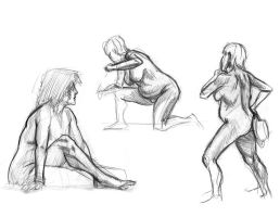 life drawings 3 by mcnostril