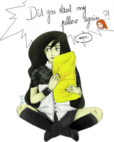 The Yellow Pillow by Juckalope