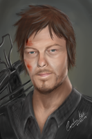 Daryl Dixon - The Walking Dead by cahrolzit