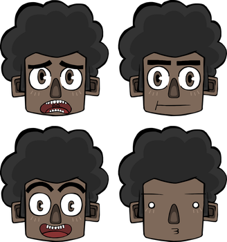 afro kid by rodrigozangelmi