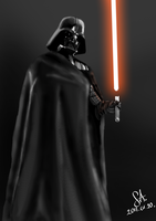 Darth Vader by whysoseriousson