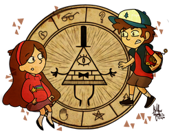 The mistery of Gravity Falls by MeeeLifer
