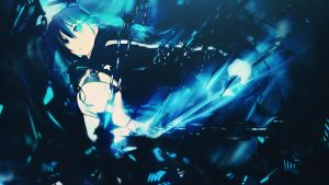 Black Rock Shooter Wallpaper by MizoreSYO