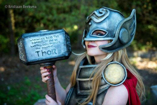 All New Thor Cosplay - Marvel VIII by SheresCosplay