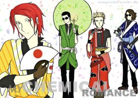 Japanese Killjoys by darkwaylovesMCR