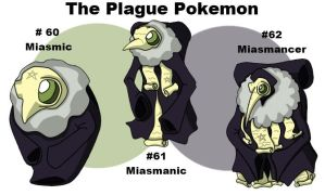 The Plague Pokemon by rohanfulton