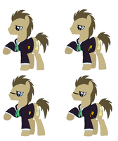 Doctor Whooves multi by ParadoxalOrder