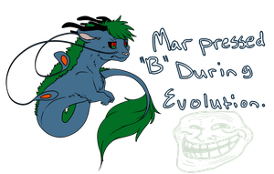 Mar pressed B during evolution by DragonicSalphe