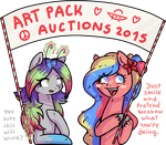 Art Pack Auctions! :U by Reporter-Derpy