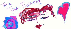 Take the Flower by KarmicCircle