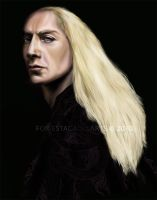 Portrait of Lucius Malfoy by foxestacado