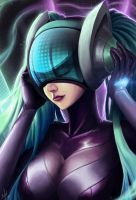 League of Legends - DJ Sona Ultimate Skin by Nel-Sun