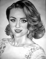 miley cyrus by minickart
