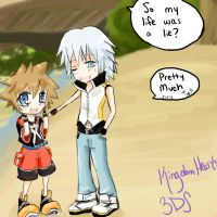 Sora's life is a lie by TouchMySitar
