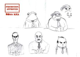 Animation character designs 3 by Guido37