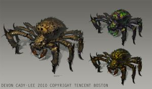 Spider Variants by Gorrem