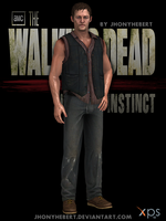 Daryl Dixon - The Walking Dead Survival Instincts by JhonyHebert