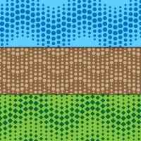 Create wavy dotted seamless pattern - tutorial by lazunov