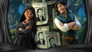 Tangled - 1920x1080 (Tangled Black Evil) by CoGraphiC
