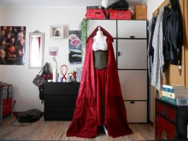 Once Upon a Time - Red's Hood (mostyl finished) by Sayuri-Shinichi