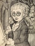 Baroque composer by fra-ni