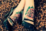 Rose tattoo by thauzar