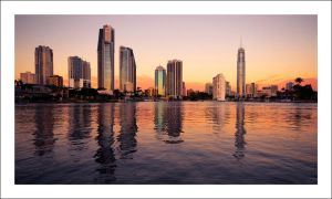 Gold Coast City -Fast shutter- by Cameron-Jung