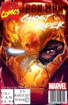 Ghost Rider vs Iron Man Comic by Gaming-Master