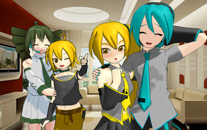 MMD Crazy Change Family Pairing by brsa
