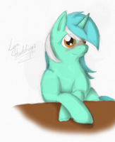 MLP:FiM - Lyra Heartstrings by Hinami