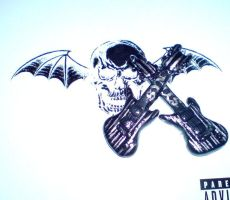 Synyster Gates guitar Earrings by adrisundead