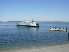 Mukilteo Ferry - Washington State by PoultryChamp