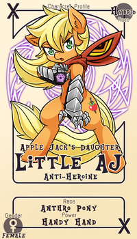 Character Card : Little AJ by vavacung