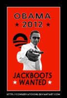 Obama Jackboots Wanted by Conservatoons