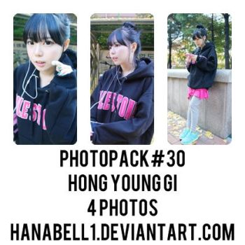 Photopack#30 Hong Young Gi by HanaBell1