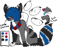 : Chi Feral Reference Sheet : by rotanpoikanen
