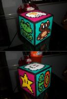 Super Mario Box Perler by Libbyseay