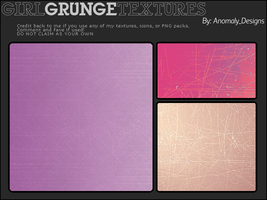 Girl Grunge Texture Pack by britsnpieces