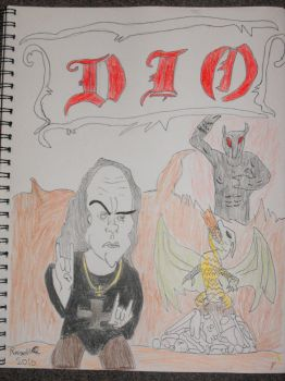 DIO cartoon tribute by russ09