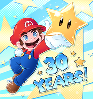 happy 30th, Mario! by Rainmaker113