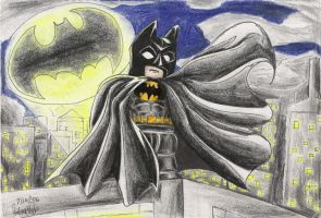 The Batman by GraphiteFalcon