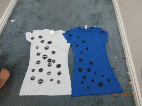 Soot sprites T-shirts by SmallBell