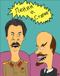 Lenin and Stalin by sunkensheep