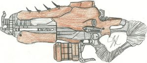 The King's Blade Exotic Auto Rifle by Chigiri16