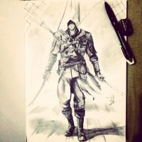 Edward Kenway by shiroiyukii