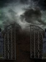 Dark gate Premade by KarahRobinson-Art