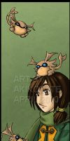 GS - Felix bookmark by akiwitch