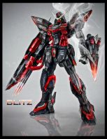 MG GAT-X207 Blitz Gundam another edit by tralala1984